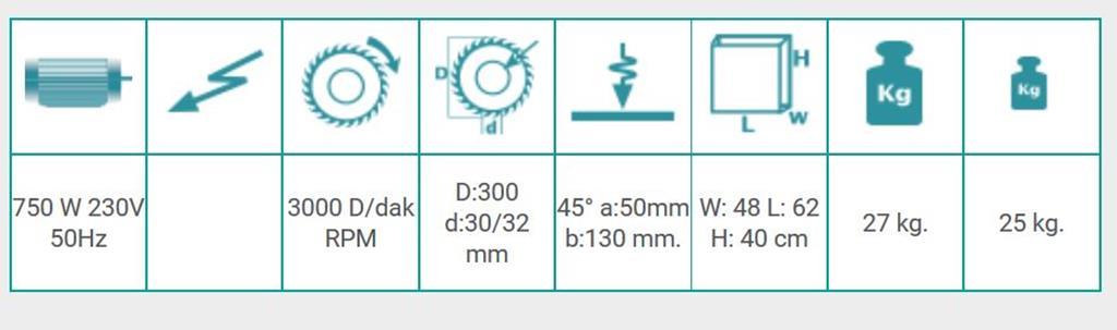 info. técnica KY 305