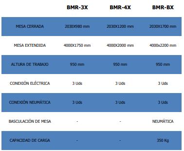 BANCO DE TRABAJO BMR-BX DE STRONG BULL EN DISOMAQ