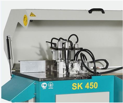 Tronzadora de corte transversal SK450 de Yilmaz en Disomaq
