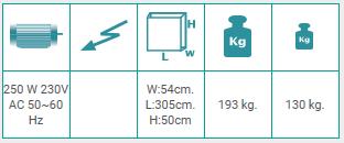 Tope medidor con parada de posicionamiento automática SKN 301