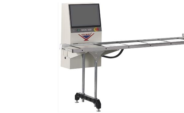 Tope medidor con parada de posicionamiento automático SKN