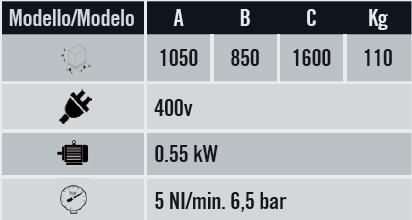 Pantógrafo mono cabezal F 100 S de Graf Synergy en Disomaq