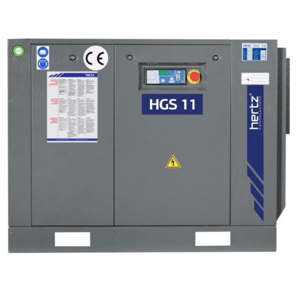 Compresor de Tornillo rotativo HGS-11. Disomaq Maquinaria, venta de maquinaria para Aluminio y PVC