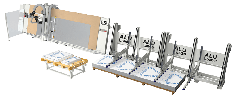 Comprar cargador automático paneles composite, Venta Maquinaria Industrial, PVC, Venta Maquinaria Ocasión, Aluminio, Maquinaria Industrial, Composite, Comprar Maquinaria Industrial, Comprar Maquinaria PVC, Comprar Maquinaria Aluminio