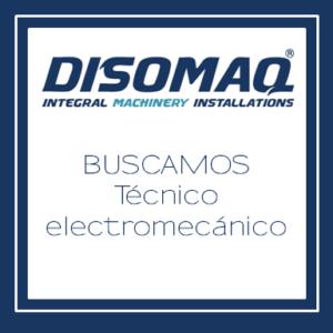 Disomaq busca técnico electromecánico