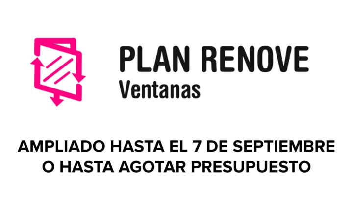 NUEVO plazo inscripción PLAN RENOVE ventanas de la Generalitat Valenciana