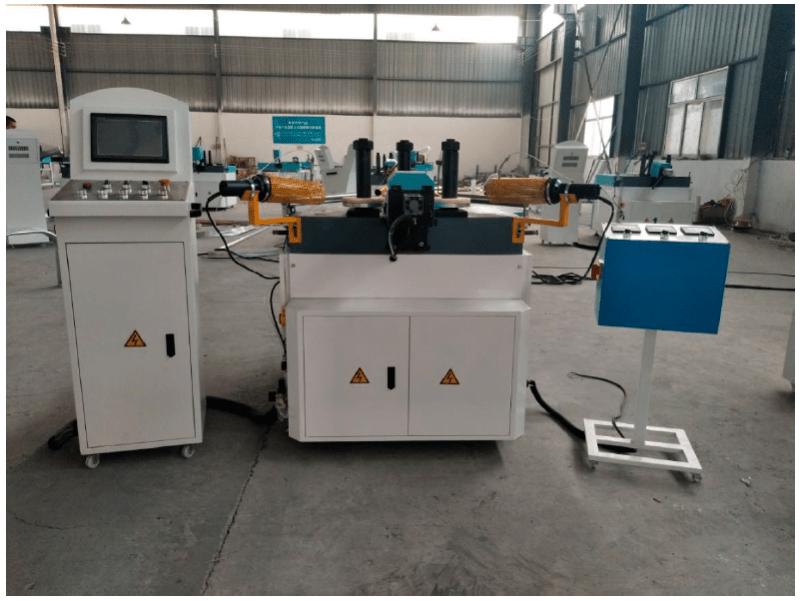 Curvadora LW100 perfiles PVC Venta de Maquinaria Aluminio Maquinaria de Ocasión Composite Maquinaria Industrial