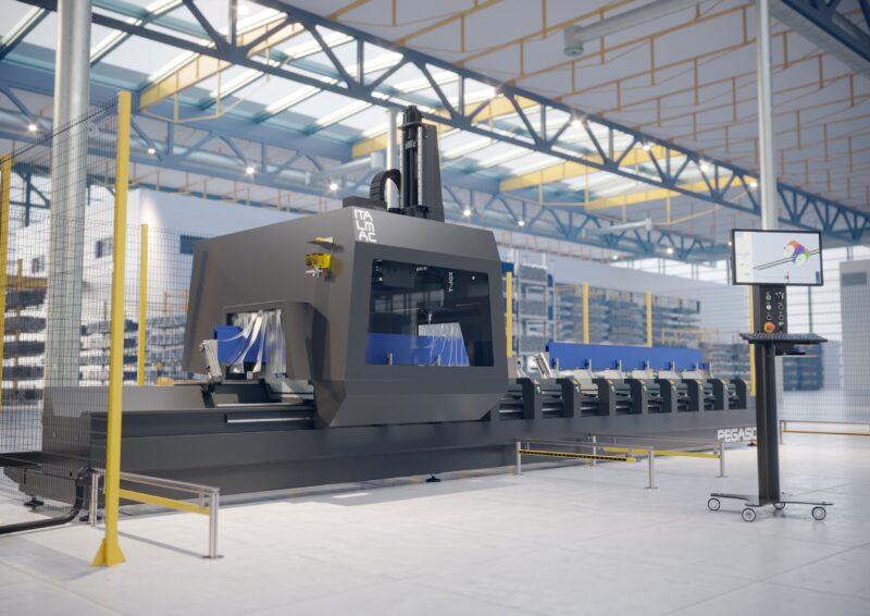 Centro de corte y mecanizado PVC y aluminio, Venta Maquinaria Industrial, PVC, Venta Maquinaria Ocasión, Aluminio, Maquinaria Industrial, Composite, Comprar Maquinaria Industrial, Comprar Maquinaria PVC, Comprar Maquinaria Aluminio