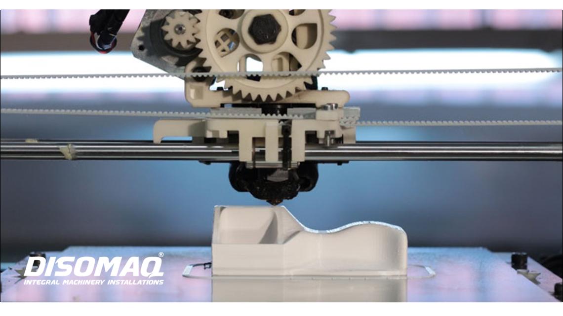 DISOMAQ y las impresoras 3D en el sector de la maquinaria industrial