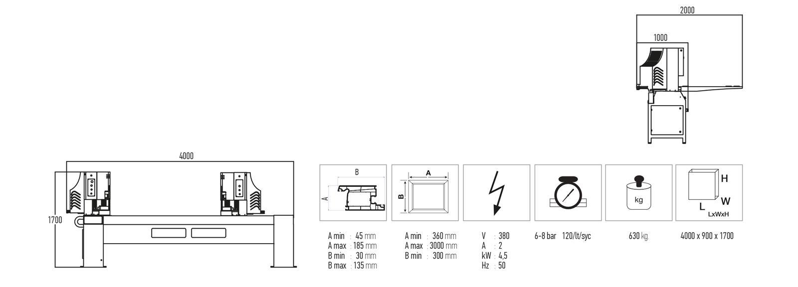 Comprar soldadora doble cabezal, Venta Maquinaria Industrial, PVC, Venta Maquinaria Ocasión, Aluminio, Maquinaria Industrial, Composite, Comprar Maquinaria Industrial, Comprar Maquinaria PVC, Comprar Maquinaria Aluminio, Reparación maquinaria industrial, Reparación maquinaria PVC, Reparación maquinaria aluminio, Reparación maquinaria composite, Servicio técnico maquinaria industrial