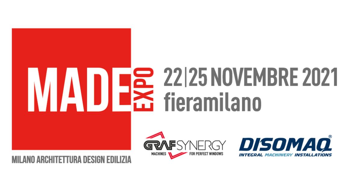 Grupo DISOMAQ participa junto a GRAF SYNERGY en MADE EXPO 2021